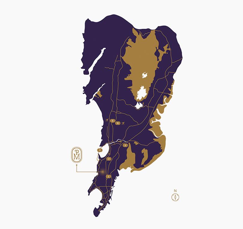 piramal mahalaxmi map