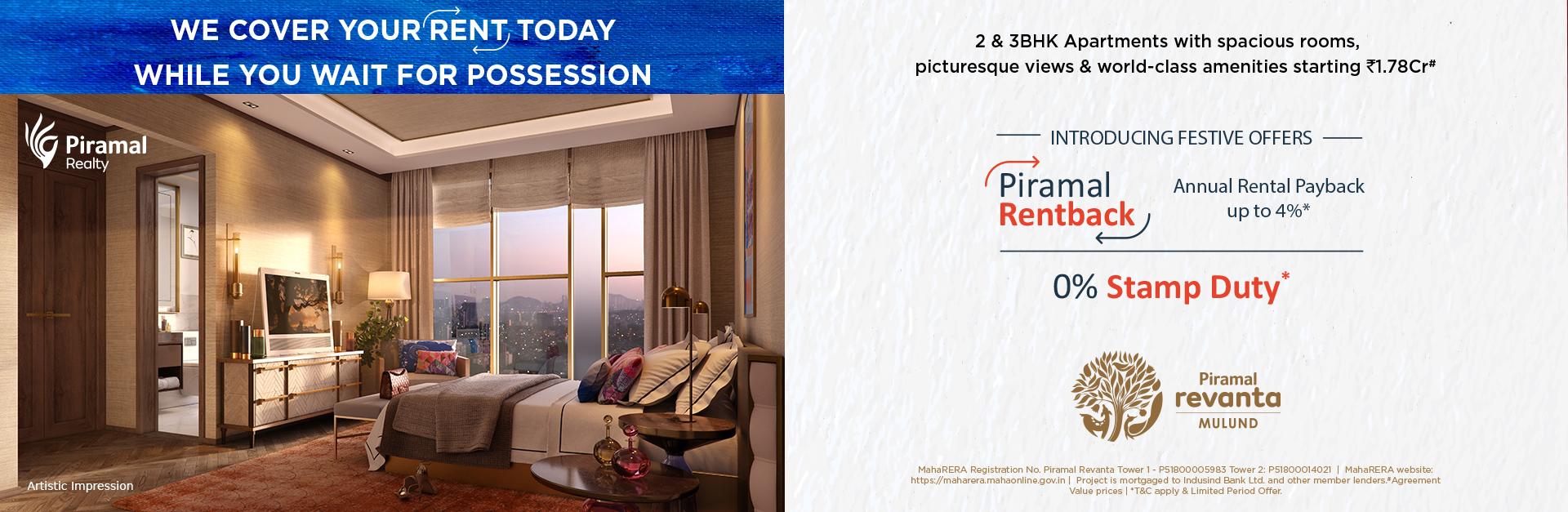 Piramal Revanta - Luxury Apartments in Mulund